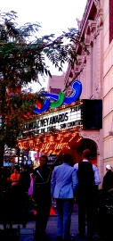 Arriving at the Ivey Awards, State Theater, Hennepin Ave., Minneapolis