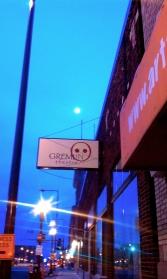 Moon over Gremlin, November 2011